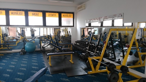 Zlava do fitness centra fortius
