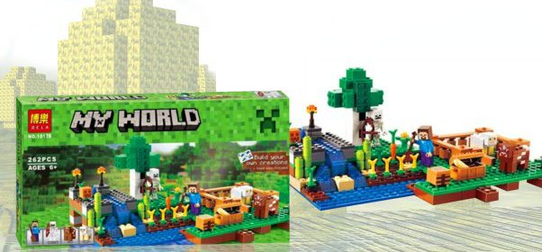 Minecraft my world - stavebnica kompatibilna s legom